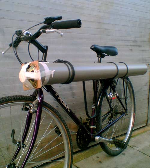 A singing bicycle